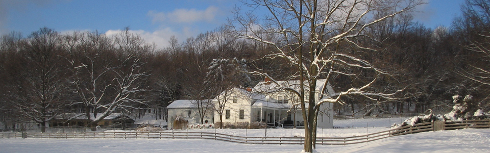 Winter at The Inn at Brandywine Falls